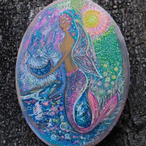 oval mermaid