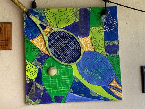 Una raquetta